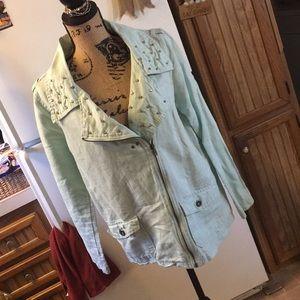 Sound & Matter cotton jacket size women's medium
